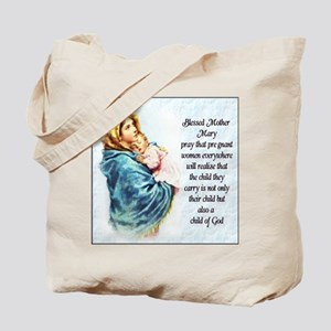ProLife Prayer Tote Bag