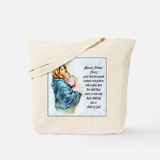 ProLife Prayer Tote Bag