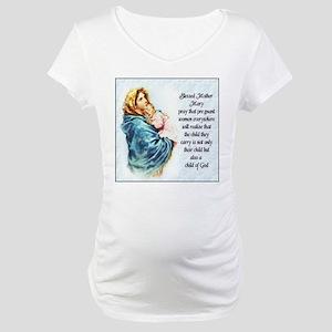 ProLife Prayer Maternity T-Shirt