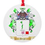 Heigl Round Ornament