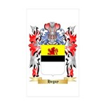 Hegny Sticker (Rectangle 50 pk)