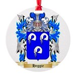 Heggie Round Ornament