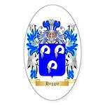Heggie Sticker (Oval 50 pk)