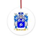 Heggie Ornament (Round)