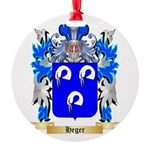 Heger Round Ornament