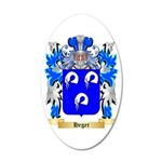 Heger 35x21 Oval Wall Decal