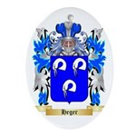 Heger Ornament (Oval)