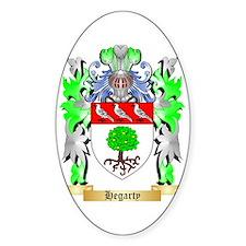 Hegarty Sticker (Oval)