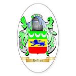 Heffron Sticker (Oval 50 pk)