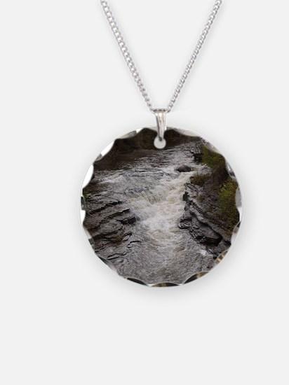 Roaring Brook Upper Falls 1 Necklace