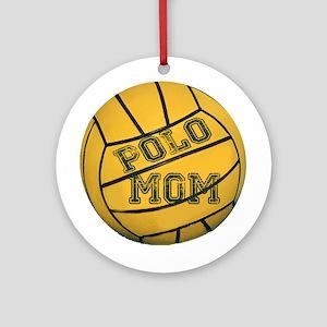 Polo Mom Ornament (Round)