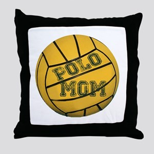 Polo Mom Throw Pillow