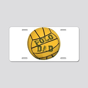Polo Dad Aluminum License Plate