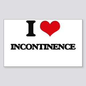 I Love Incontinence Sticker