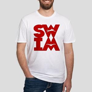 SWIM BLOCK Fitted T-Shirt