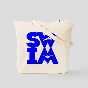 SWIM BLOCK Tote Bag