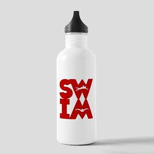 SWIM BLOCK Stainless Water Bottle 1.0L