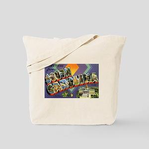 Greetings from South Carolina Tote Bag