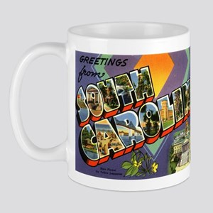 Greetings from South Carolina Mug