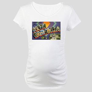 Greetings from South Carolina Maternity T-Shirt