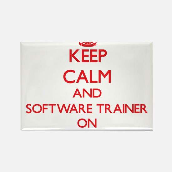 Keep Calm and Software Trainer ON Magnets