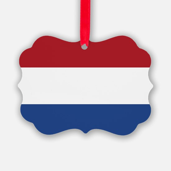 Netherlands Flag Ornament