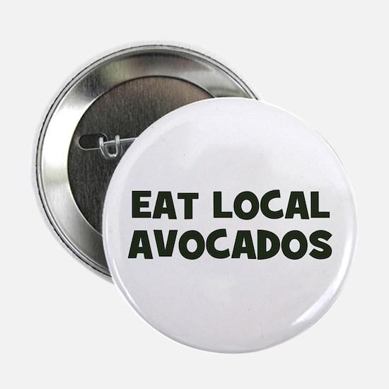 eat local avocados Button