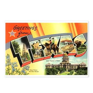 Texas greetings postcards cafepress m4hsunfo