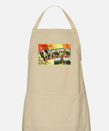 Greetings from Texas BBQ Apron