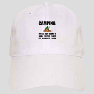 Camping Homeless Baseball Cap