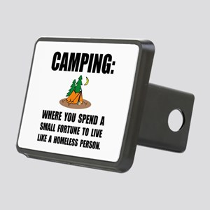 Camping Homeless Hitch Cover