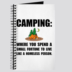 Camping Homeless Journal