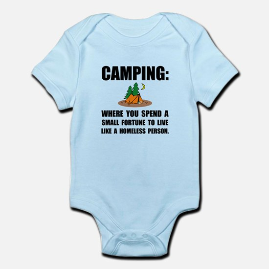Camping Homeless Body Suit