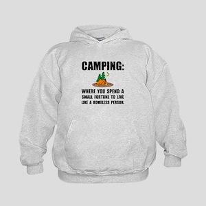 Camping Homeless Hoodie