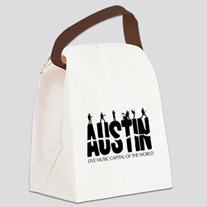 Austin Live Music Band Canvas Lunch Bag