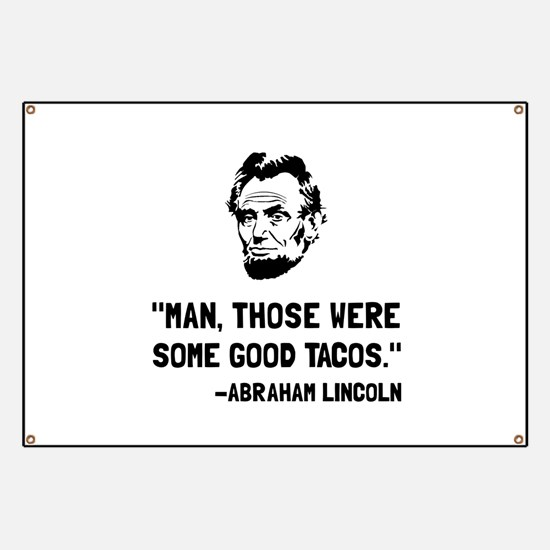 Lincoln Good Tacos Banner