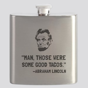 Lincoln Good Tacos Flask