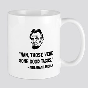 Lincoln Good Tacos Mugs