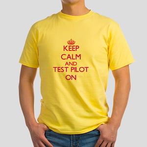 Keep Calm and Test Pilot ON T-Shirt