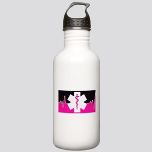 Pink Emergency Medical Water Bottle