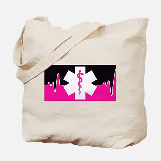 Pink Emergency Medical Tote Bag