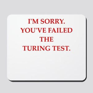 turing test Mousepad