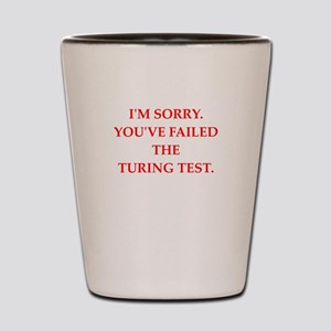 turing test Shot Glass
