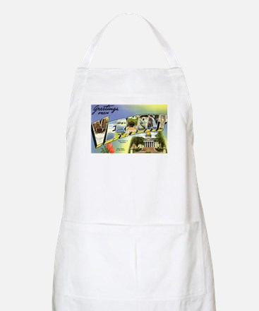 Greetings from Vermont BBQ Apron