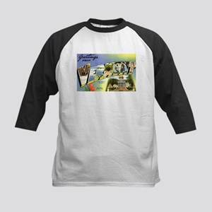 Greetings from Vermont Kids Baseball Jersey