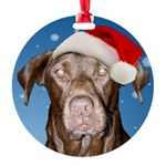 Amber Marie Round Ornament