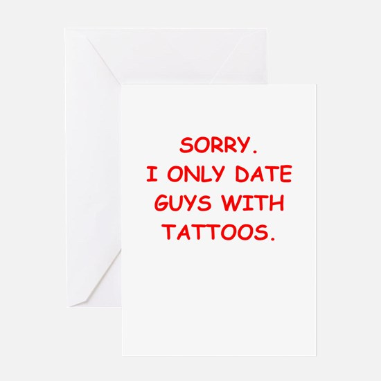 tattoo Greeting Cards