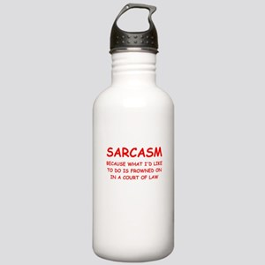 sarcasm Water Bottle