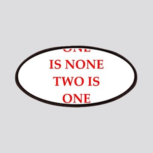 one is none Patches