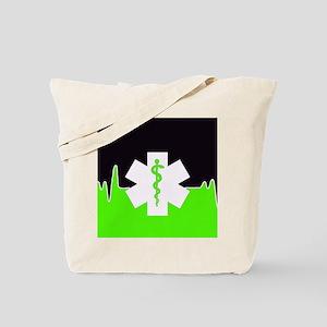 Green Emergency Medical Tote Bag